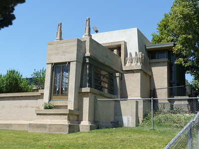 Hollyhock House Construction Photo Gallery